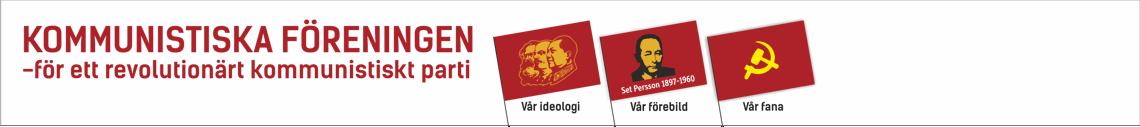 Kommunistiska Föreningens hemsida
